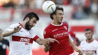Effizientes Spartak knickt Thuner Hoffnungen