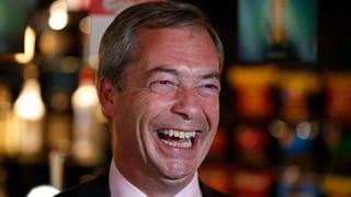 Ukip wird stärkste Kraft in Grossbritannien