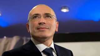 Chodorkowski erhält ein Visum für die Schweiz