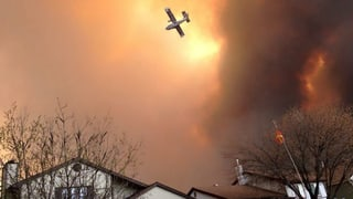 Zehntausende fliehen vor Waldbrand in Kanada