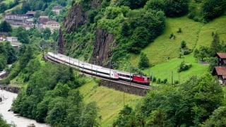 Gotthard-Bergstrecke bleibt bei der SBB