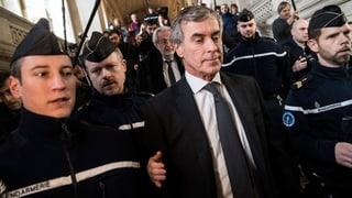 Drei Jahre Haft für früheren französischen Budgetminister Cahuzac