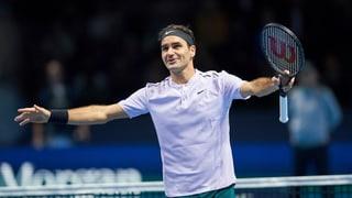 Federer beisst sich zum Sieg
