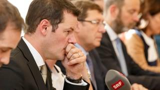 Pierre Maudet gibt Regierungspräsidium vorläufig ab