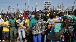 «Die Lage im  südafrikanischen Bergbau ist explosiv»