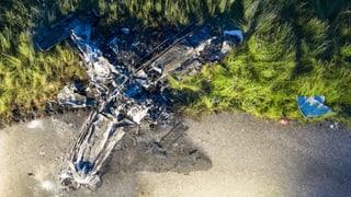 Pilot stirbt bei Absturz von Kleinflugzeug