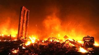 Dürre, Hitze und Feuer halten die US-Südstaaten im Würgegriff