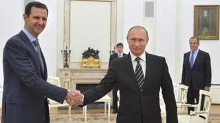 Assad auf «Arbeitsbesuch» bei Freunden