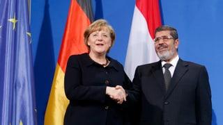 Warum Mursi in Berlin weilt