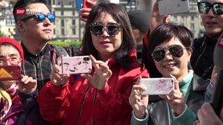 «Eine solch grosse Touristengruppe in Luzern ist eine Ausnahme»