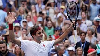 Federer en otgavelfinal da l'US Open