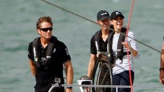 «Ätschibätsch»: Kate schlägt William auf hoher See