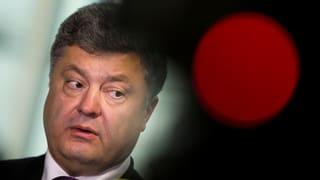 Poroschenko: Fürs Volk die grossen Worte, für sich das Geld