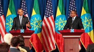 Obama ruft in Äthiopien zum Kampf gegen den Terror auf
