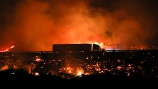 Tausende Buschfeuer wüten in Kalifornien
