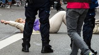 Zürcher Staatsanwaltschaft untersucht Pfefferspray-Einsatz