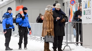 Prominente Gäste, gelassene Davoser