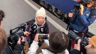 Greta Thunberg in Davos: «Ich will, dass ihr in Panik ausbrecht!» (Artikel enthält Video)