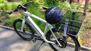 Ein E-Bike orten und ab durch Zürich