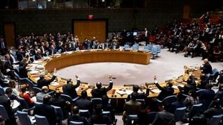 Resolutionsentwürfe der USA und Russlands zum mutmasslichen Giftgasangriff in Syrien wurden abgelehnt.