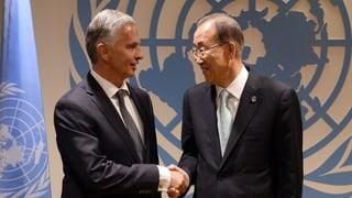 Burkhalter: «Die Internationale Gemeinschaft ist nervös»
