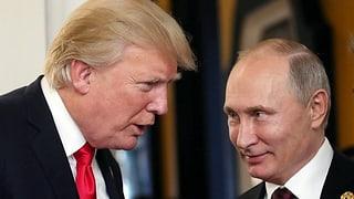 Trump will Putin im Weissen Haus empfangen