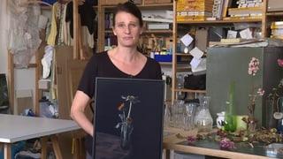 Verwelkte Blumen zum Verschenken: Kunst von Brigitte Lustenberger (Artikel enthält Video)