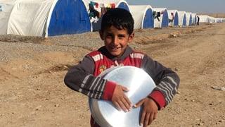 Wo die Vertriebenen aus Mossul Zuflucht finden