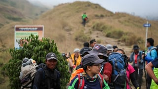 Lombok: Ils blers viandants en segirtad