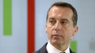 Austria ha sco i para in nov chancelier: Christian Kern
