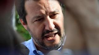 Matteo Salvini, der derzeit stärkste Mann Italiens