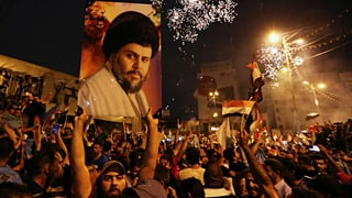 Prediger Muktada al-Sadr liegt im Irak überraschend vorn