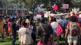 Proteste gegen Trump in vielen US-Bundesstaaten