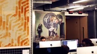 Skurril: Ein Museum für Street-Art in einer Informatik-Hochschule