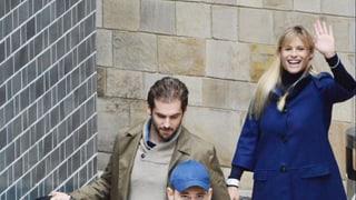 Michelle Hunziker und Sole verlassen das Spital