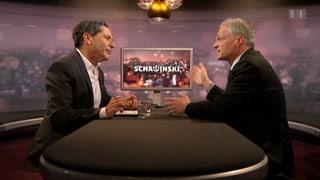 Minder bei Schawinski: «Aktionäre sind doch nicht blöd»