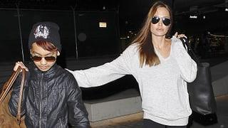 Angelina Jolie dreht Film mit Sohn Maddox