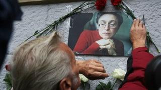 Mutmassliche Mörder von Politkowskaja erneut vor Gericht