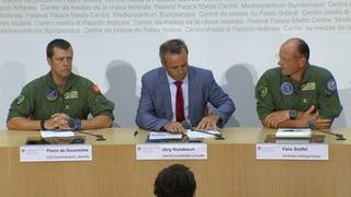 Medienkonferenz der Luftwaffe: Das Protokoll zum Nachlesen