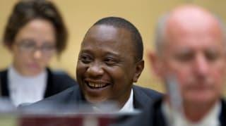 Erstmals amtierender Präsident vor Internationalem Strafgericht