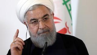 Rohani wirft USA «psychologische Kriegsführung» vor