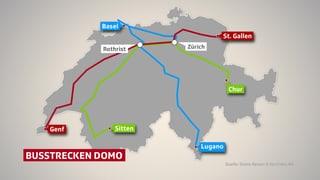 Bund lässt drei nationale Fernbuslinien zu