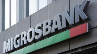 Auch Migrosbank denkt über Negativzinsen nach