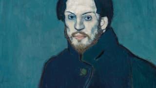 Ein melancholischer Meister malt sich in den Olymp der Kunst