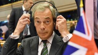 Farage sorgt für Aufregung im EU-Parlament