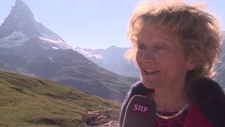 Widmer-Schlumpf: Das Matterhorn ist ihr ein zu grosser Brocken