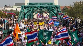 Thailand: Regierungsgegner rüsten sich für die grosse Blockade