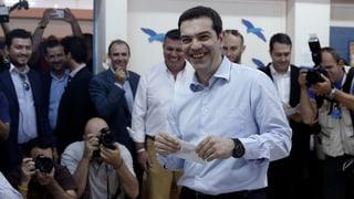 In Griechenland liegt das Linksbündnis Syriza vorn