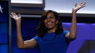 Michelle Obama erobert Demokraten-Parteitag