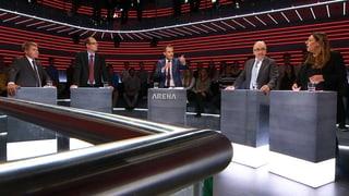 «Arena»: Ein zweiter SVP-Bundesrat scheint entschiedene Sache
